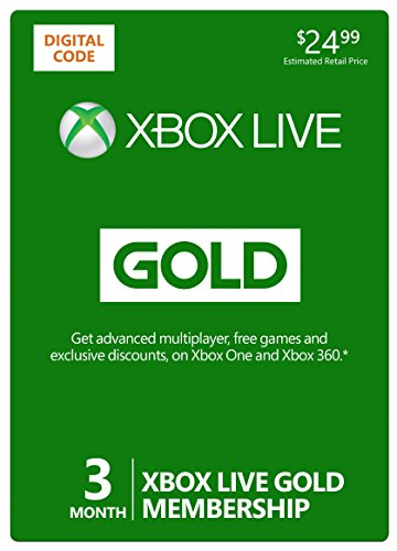 Xbox Live 3 Month Gold Membership [Online Game Code] image
