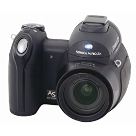 Konica Minolta Dimage Z3 4MP Digital Camera with Anti Shake 12x Optical Zoom