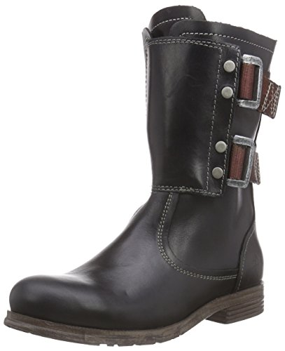 FLY London SOFI, Stivali donna, Nero (Nero (Black 001)), 35