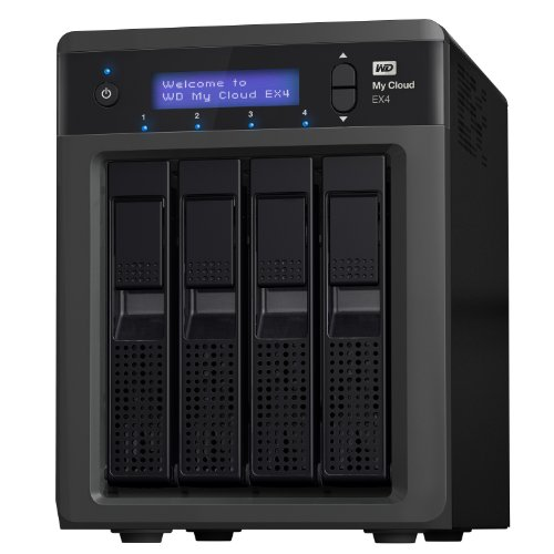 WD My Cloud EX4 Diskless: High-Performance NAS,