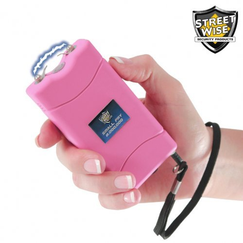 New Small Fry 8,000,000* Stun Gun Rechargeable Pink
