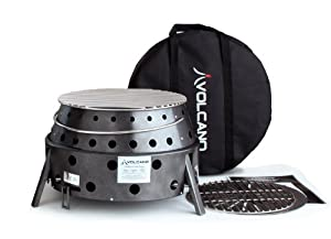 Volcano 20-200 Charcoal Collapsible Grill by Volcano Grills