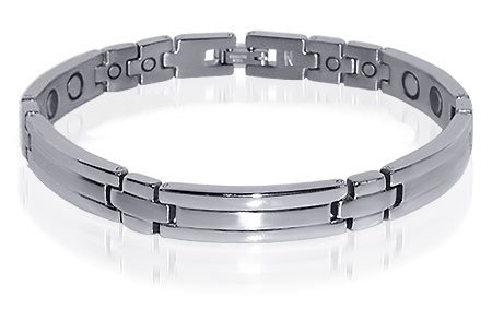 Ladies Elegant Stainless Steel Magnetic Bracelet 8.25
