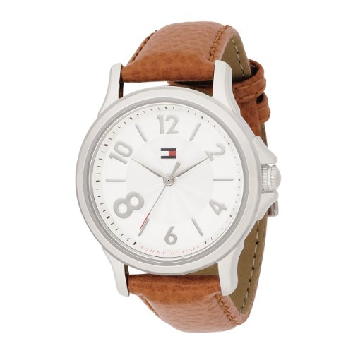 Tommy Hilfiger Women's 1780992 Fashion Quartz Movement Silver Dial with Crystals Watch