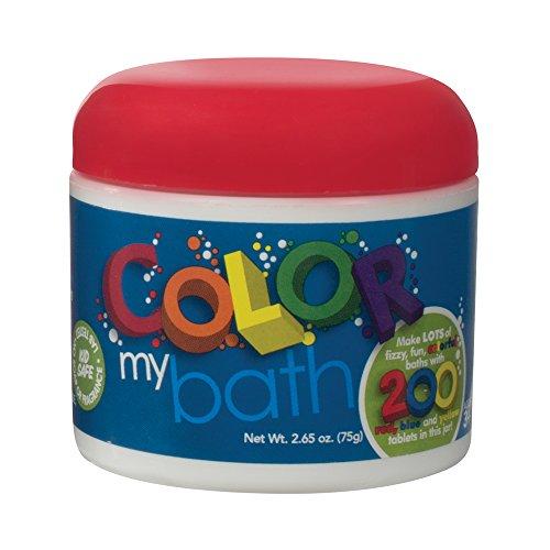 Color My Bath H2O La La! 200 Small Tablets