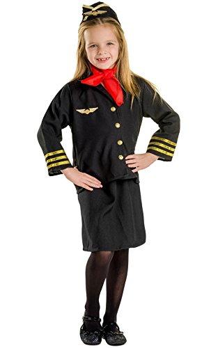 dress-up-america-366-m-costume-da-hostess-m-8-10-anni-multicolore