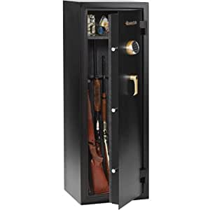 sentry safe 10 gun safe with combination