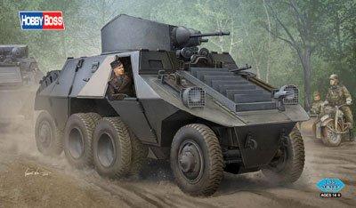 ホビーボス 1/35 ドイツ ADGZ 8輪重装甲車 プラモデル 83889