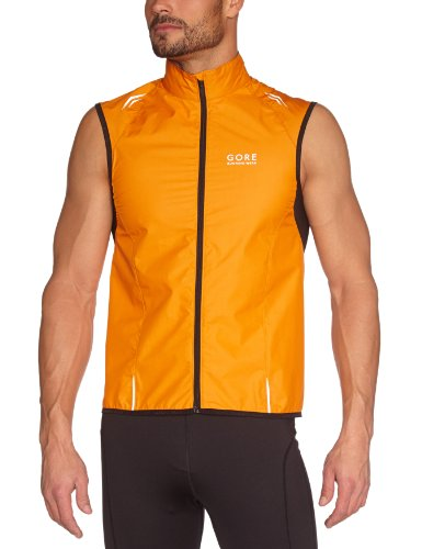 Gore Air 2.0 Windstopper Running Wear Men's/Unisex Sleeveless Jacket Active Shell Light