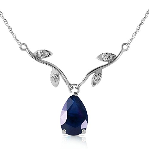 152-CTW-14k-22-Solid-White-Gold-Drop-Necklace-with-Genuine-Diamonds-and-Pear-shaped-Natural-Sapphire