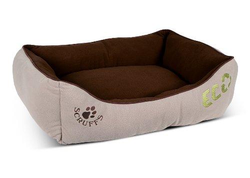 Scruffs-676444-Eco-Hundebett-Gr-L-75x-60-cm-braun
