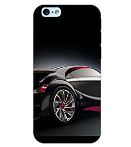 PrintDhaba CONCEPT CAR D-6440 Back Case Cover for APPLE IPHONE 6 (Multi-Coloured)