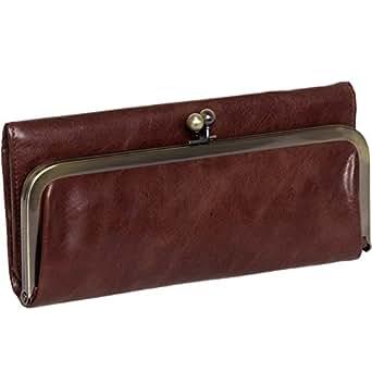 Hobo Womens Genuine Leather Vintage Rachel Clutch Wallet (Castagna)