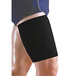 Neoprene Sleeve Leg Thigh Support Brace by Como: Sports & Outdoors