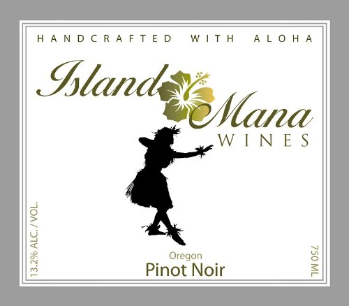 2009 Island Mana Oregon Pinot Noir 750Ml