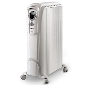 De'Longhi Dragon 3 ECC TRD0820ER Oil Filled Radiator, 2 kW