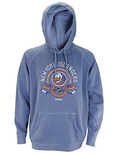 New York Islanders NHL Men's Vintage Dyed Hoodie - Blue (Large) (New York Islanders Jacket compare prices)