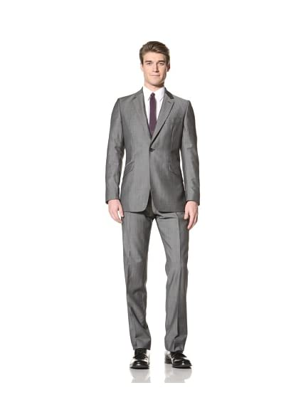 Duchamp Men's Morgan Luxe Twill Suit