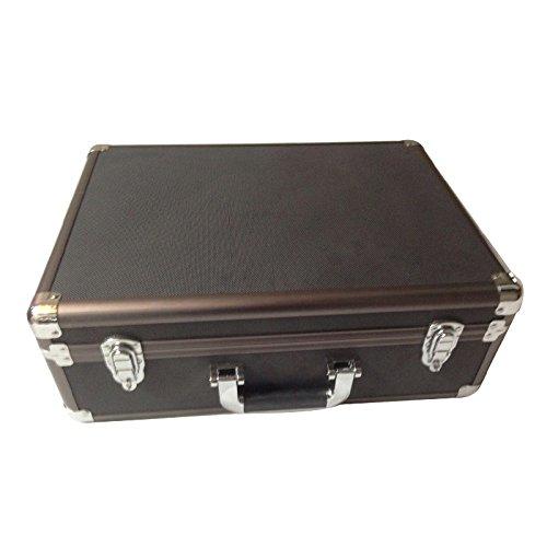 """Aluminum Camera Travel Case - 18.1"""" x 13.5"""" x 6.5"""""""