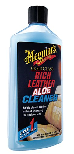 Meguiars Rich Leather Aloe Cleaner