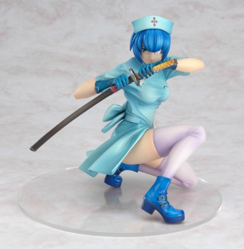 Ikki Tousen : Ryomou Shimei Blue Nurse Version PVC