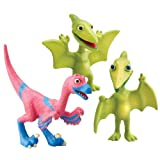 41R67juxOnL. SL160  Dinosaur Train   Collectible Dinosaur 3 Pack   Mr. Pteranodon, Don, And Velma