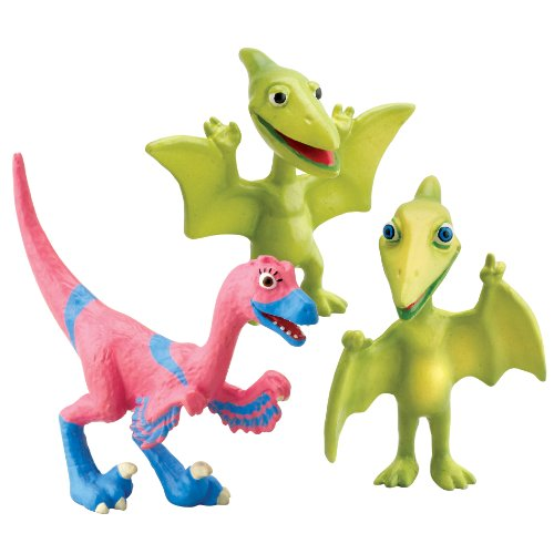 Learning Curve Dinosaur Train - Collectible Dinosaur 3 Pack - Mr. Pteranodon, Don, and Velma