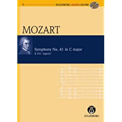 Mozart Symphony  No. 41 in C major K 551 Jupiter + CD