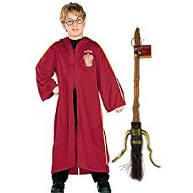 Harry Potter Quidditch Dressing up Set with Firebolt Broom