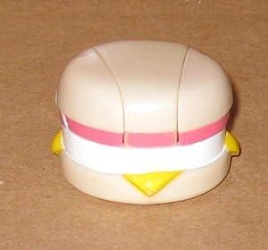1987 McDonalds Changeables Egg McMuffin Sandwich Transformer