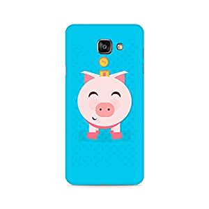 Mobicture Pig Money Premium Printed Case For Samsung A710 2016 Version