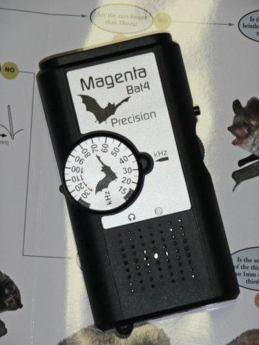 MAGENTA 'BAT4' BAT DETECTOR , LISTENER , LOCATOR