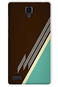 IndiaRangDe Hard Back Cover FOR Xiaomi Redmi Note