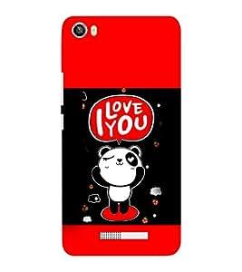 EPICCASE Cute Panda Mobile Back Case Cover For Lava Iris X8 (Designer Case)