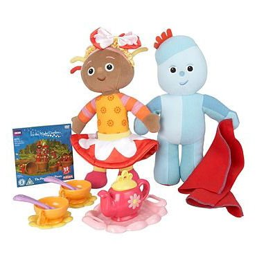 In The Night Garden Tea Party & Friends Playset & DVD includes Large Iggle Pi...
