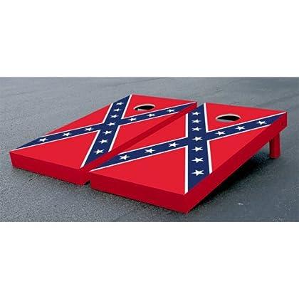 Super Confederate Rebel Flag Cornhole Bean Bag Toss Game Set Pabps2019 Chair Design Images Pabps2019Com