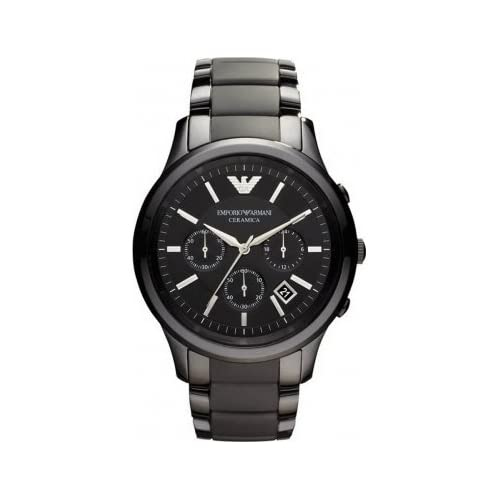 Emporio Armani Black Ceramica Chronograph Watch AR1452