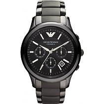 Emporio Armani AR1452 Mens Ceramica Black Watch