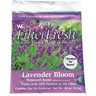 Scented Furnace Air Freshener Pad-LAVENDER AIR FILTER PAD