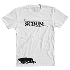 Buy Rugby Scrum T-shirt by RugNinja