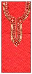 Astha Boutique Women's Cotton Kurta Fabric (Pink)