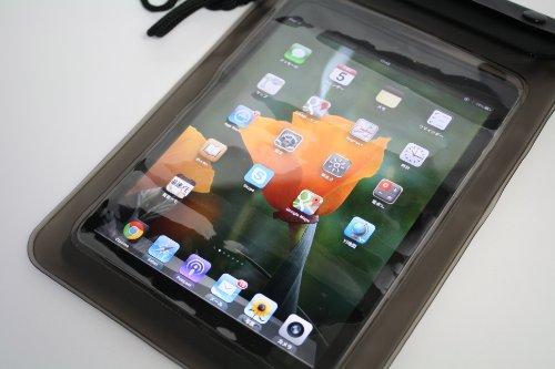 ストラップ付き iPad mini用 ソフト防水ケース