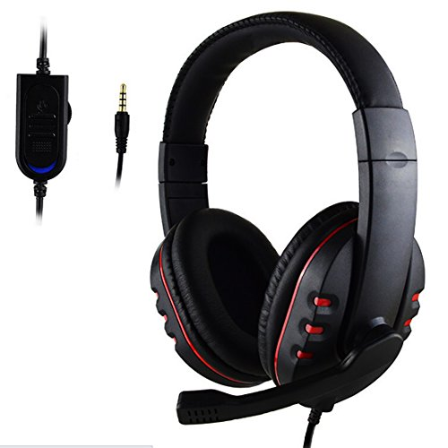 NoyoKere 3.5mm Over-ear Gaming Headphone Headset Earphone Headband with Mic Stereo Bass Sony PS4 PC Game (Xbox One Portable Monitor compare prices)