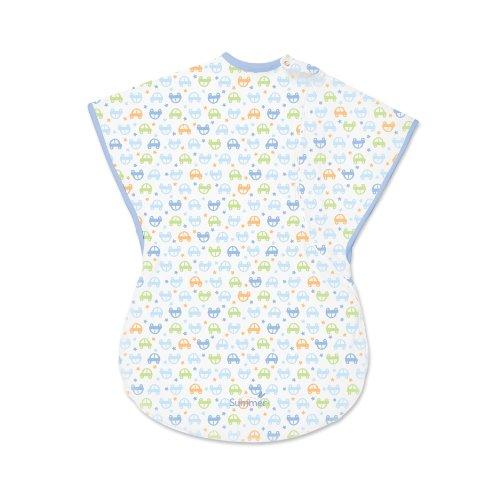 Summer Infant ComfortMe Wearable Blanket, Little Cars, Small