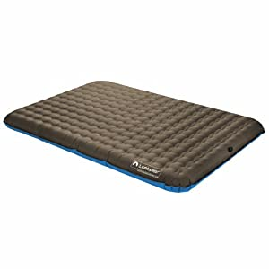 Lightspeed Outdoors Deluxe TPU Air Bed with Battery-Operated Pump by Lightspeed Outdoors