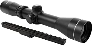 AIM 2-7x42 Long Eye Relief Scout Rifle Scope + Scout Rail Mount