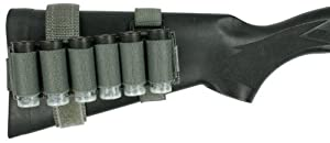 Specter Gear Benelli M1/M2/M3 Buttstock Shell Holder with Rear Adapter, Foliage Green