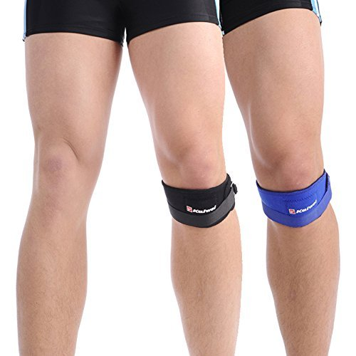 Promithi Knee Strap Knee Braces Support Knee Patella Support for Running, Basketball Sports Activities