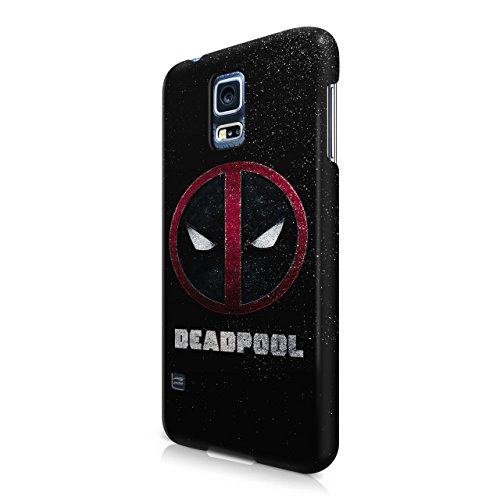 Deadpool Logo Hard Snap-On Protective Case Cover For Samsung Galaxy S5