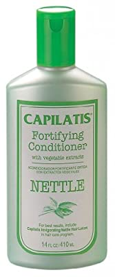Nettle Extract Conditioner for Hair Loss and Thinning Hair. Powerful herbal formula contributes to healthier looking hair. 14 oz. Two to three month supply